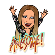rachelle awesome bitmoji