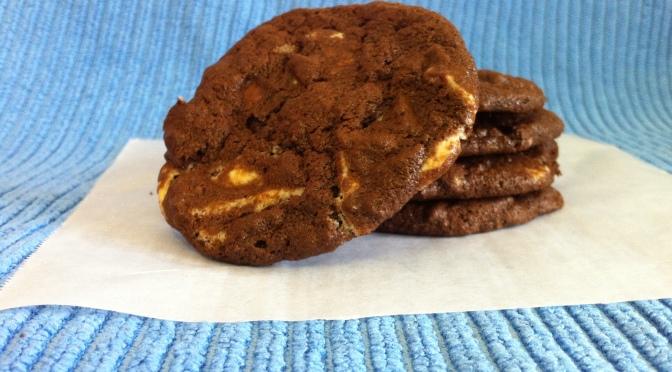 Gluten Free Triple Chocolate Biscuits