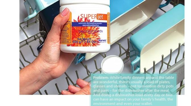 Norwex Super Jet dishwashing powder