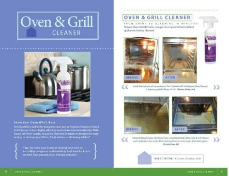 oven and grill before and after book