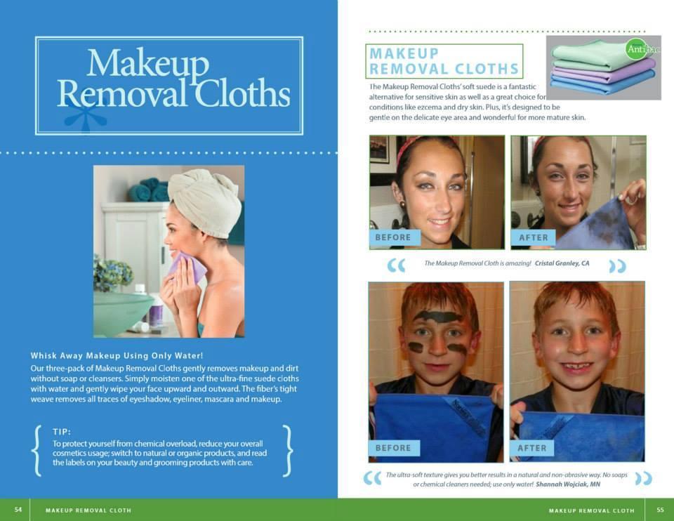 make up cloths book