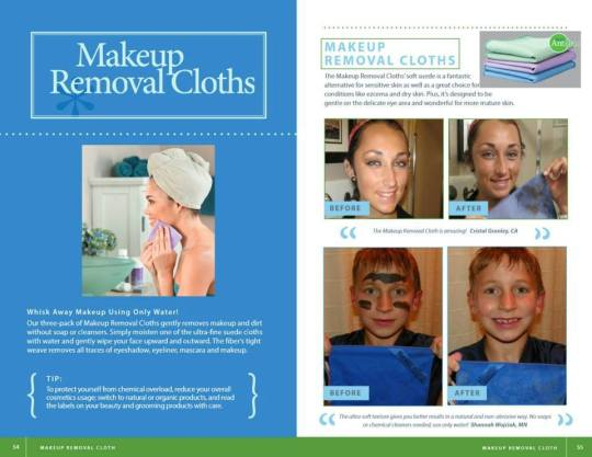 make up cloths book