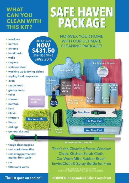 Safe Haven Package Aug 2017