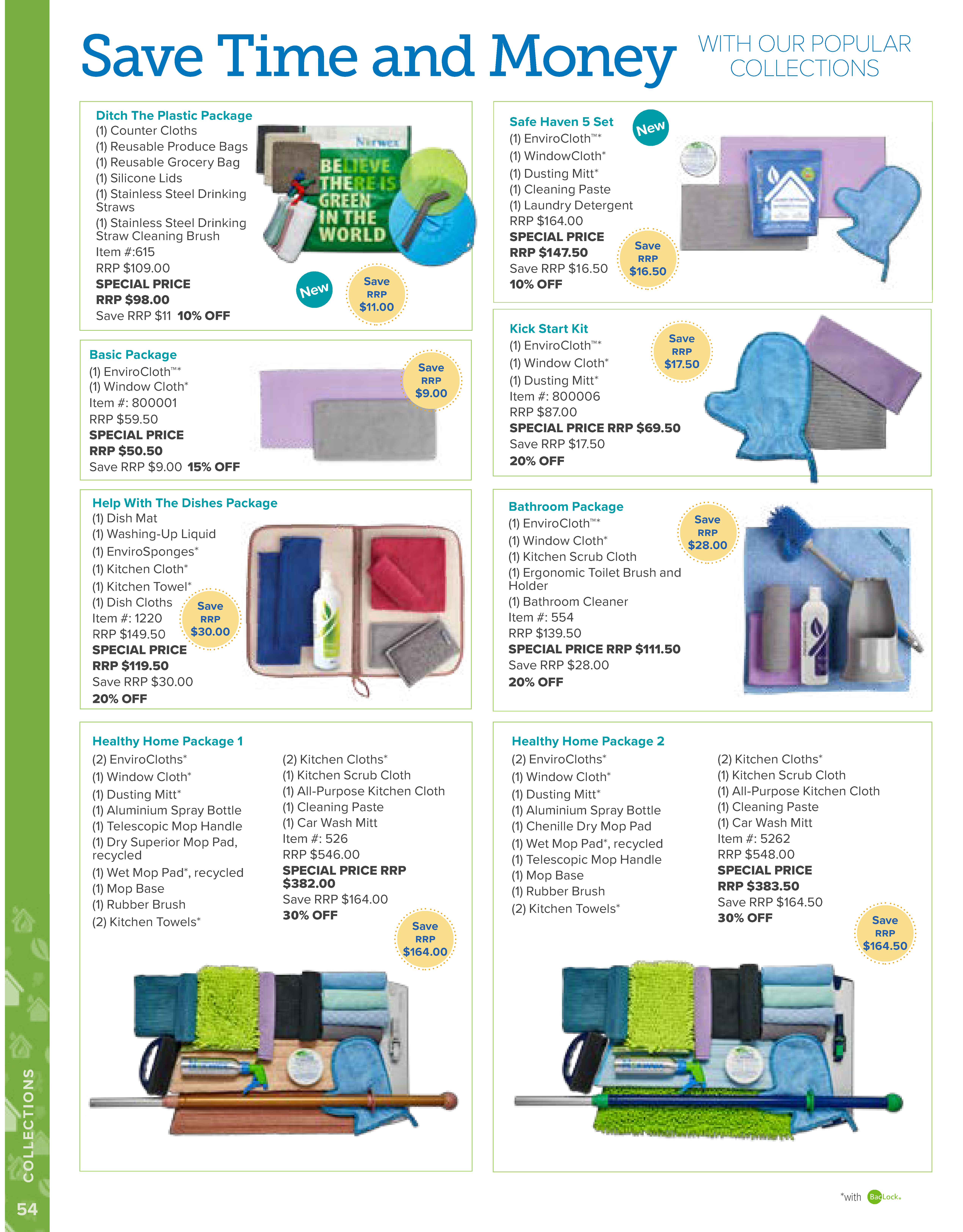 AU 2019 Catalogue Collection and packs  - ditch the plastic package basic package help with the dishes healthy homes packages bathroom package kick start kit safe haven set Page 54.jpg