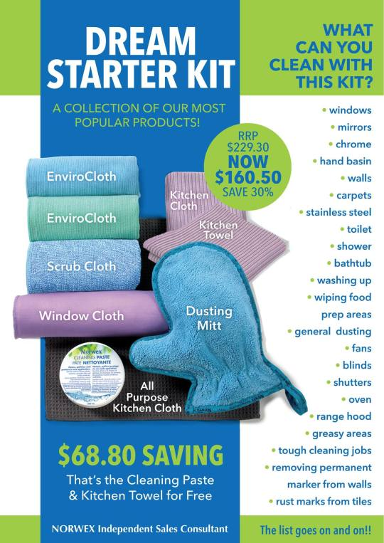 New Dream Starter Kit flyer AU 2017