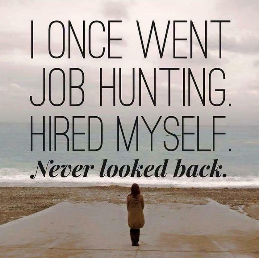i hired myself