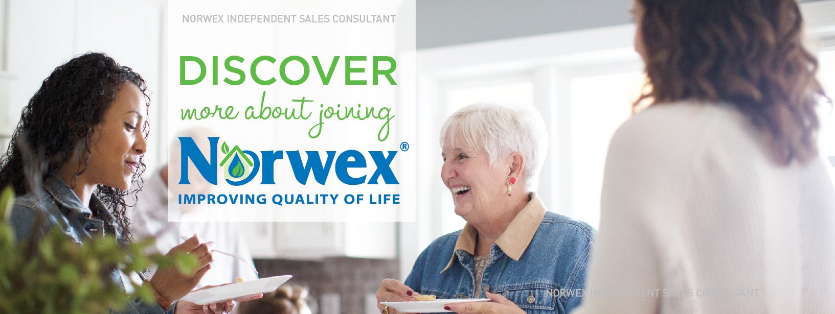 recruiting joining Norwex banner