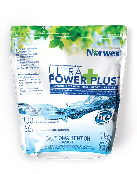 The New Norwex Ultra Power Plus laundry powder has been released!