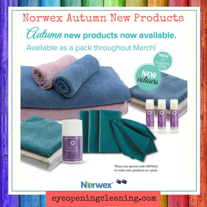 New Norwex 2018 Autumn Products