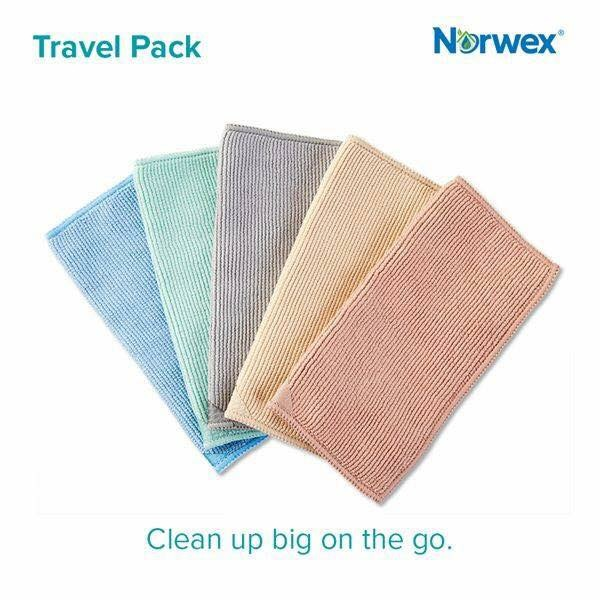 The mini travel enviro cloth… the answer to cleaning my dusty, mouldy venetians!